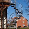 Spindel-Gartentreppe